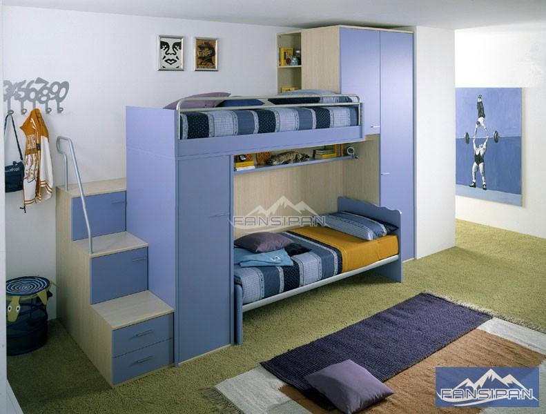 Giường ngủ trẻ em GEF011