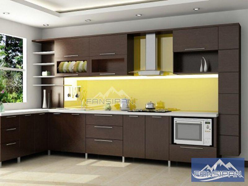 Tủ bếp gỗ hiện đại TBF008