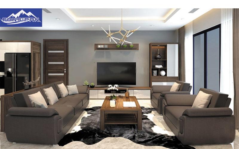Bàn ghế Sofa gỗ phòng khách BGF032